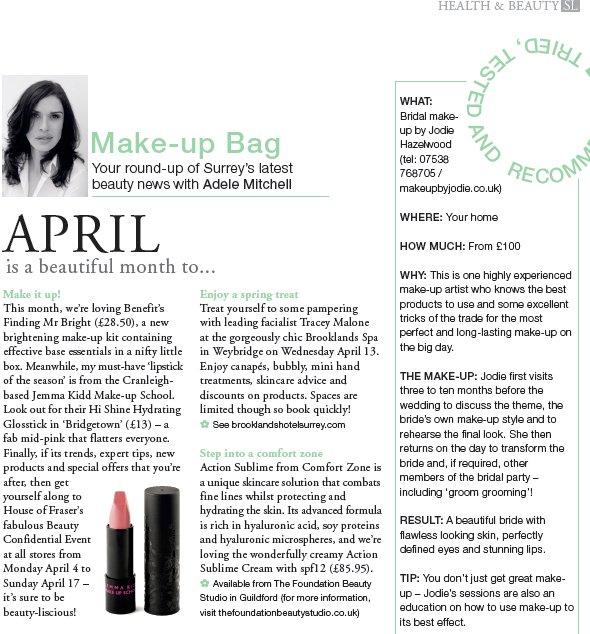 makeup artist jodie hazlewood