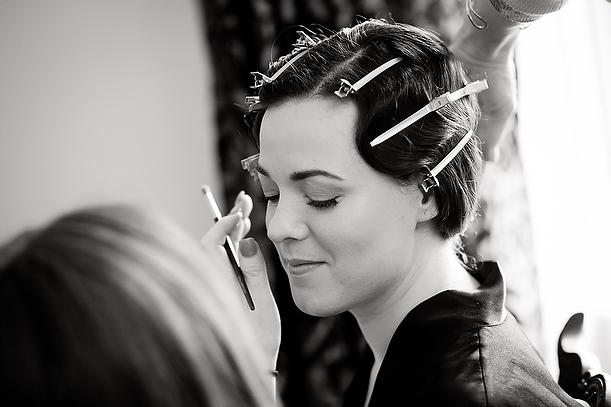 Botleys wedding bride bridal makeup artist makeupbyjodie prep