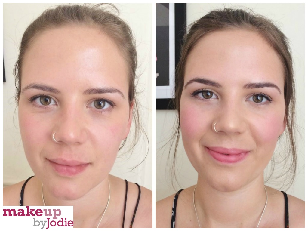 before and after elf hd blush cream review makeupbyjodie makeup review