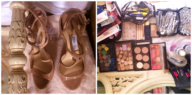 jimmy choo and bridal makeup