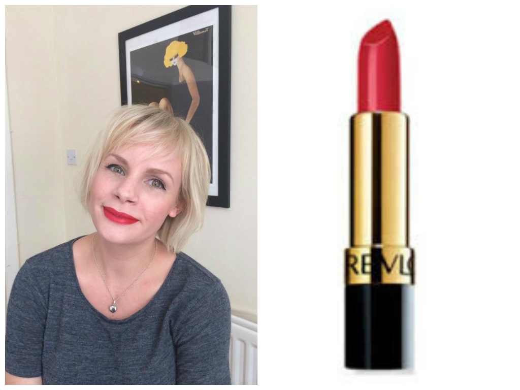 red lipstick for blondes with cool skin tone 2