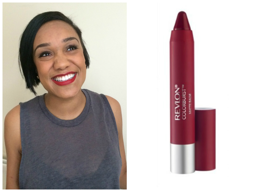 red lipstick for dark skin tones