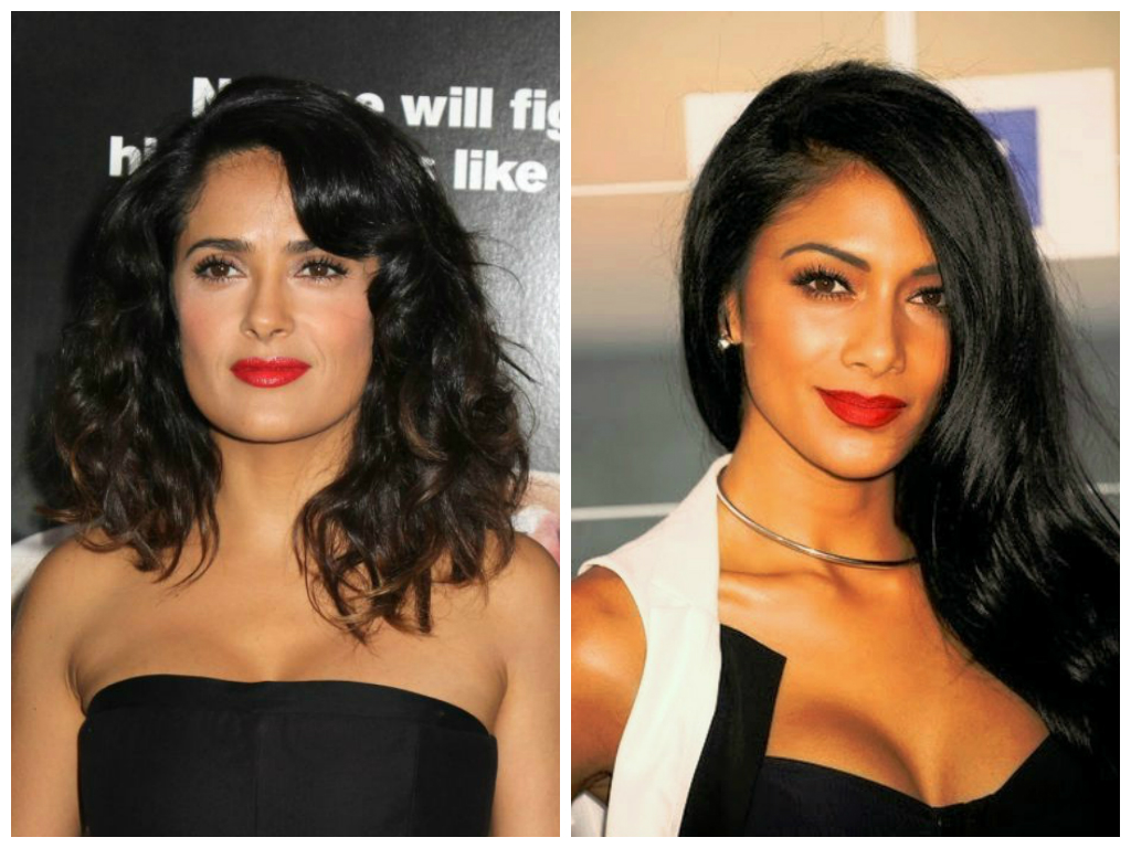 red lipstick for olive skin tones