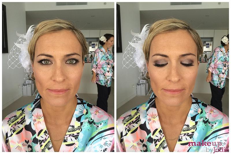 destination wedding makeup up smokey eyes