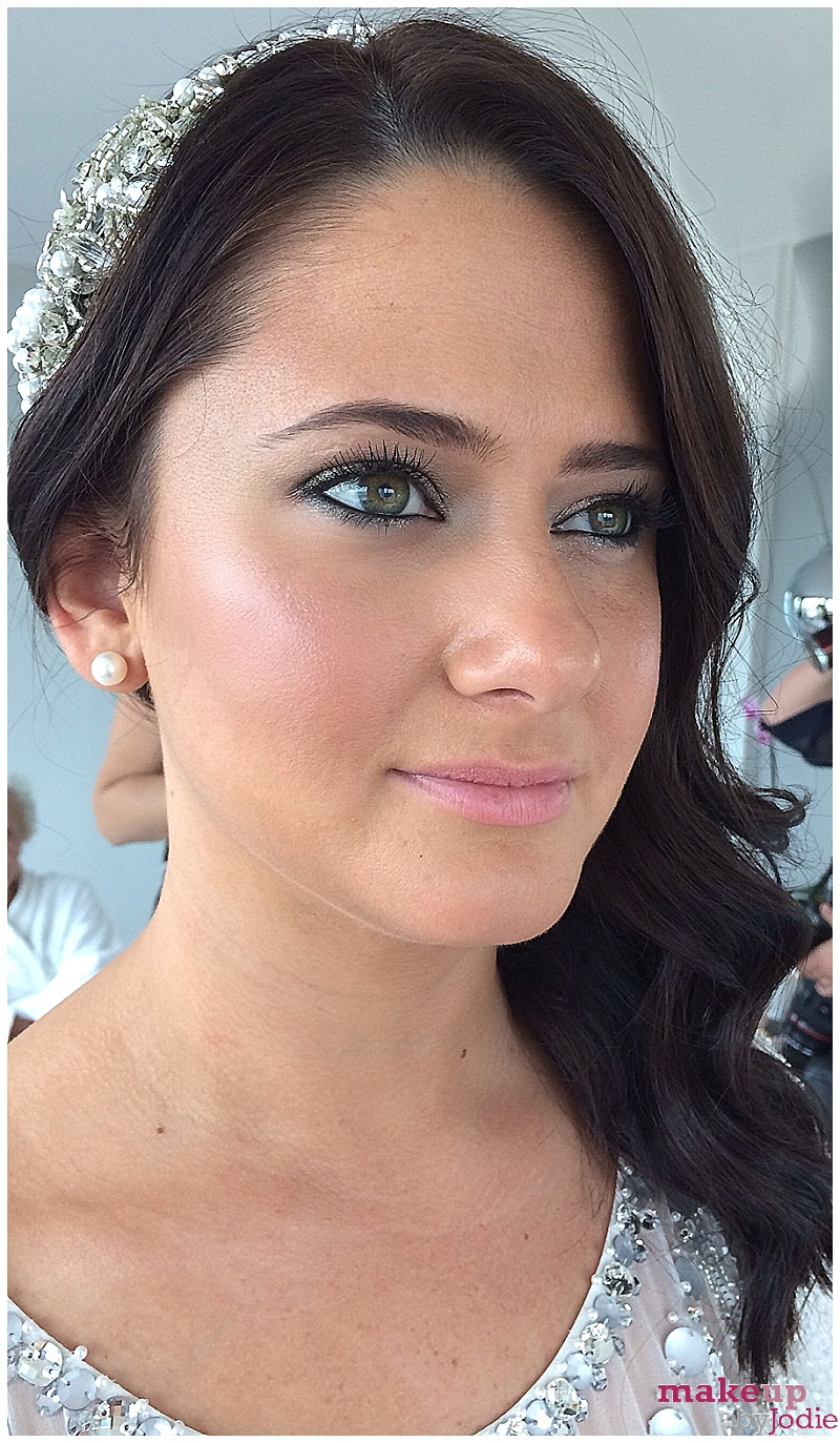 Bridal makeover with Shu Uemura eyeshadow and blush