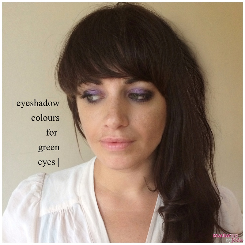 Eyeshadow colours for green eyes laura