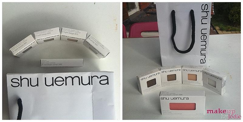 Shu Uemura eyeshadow review 2