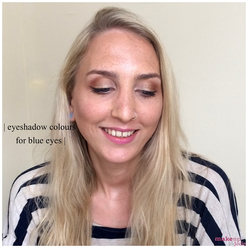 eyeshadow colours for blue eyes nikki