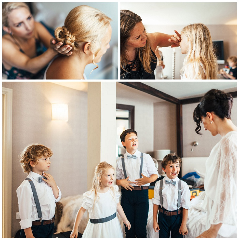 wedding hair and makeup at The George in Rye 2