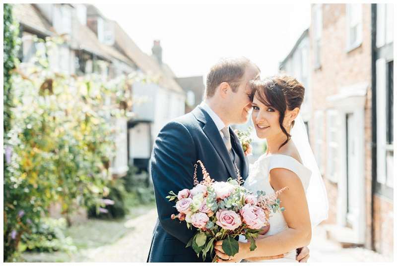 wedding hair and makeup at The George in Rye 7