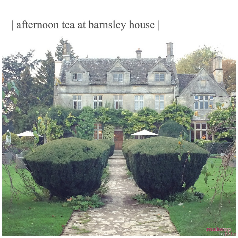 afternoon tea at barnsely house lead