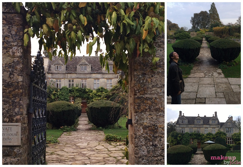 exploring barnsley house gardens