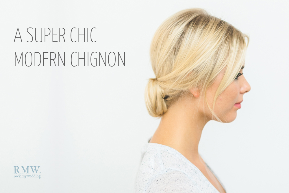 A Super Chic Chignon Tutorial