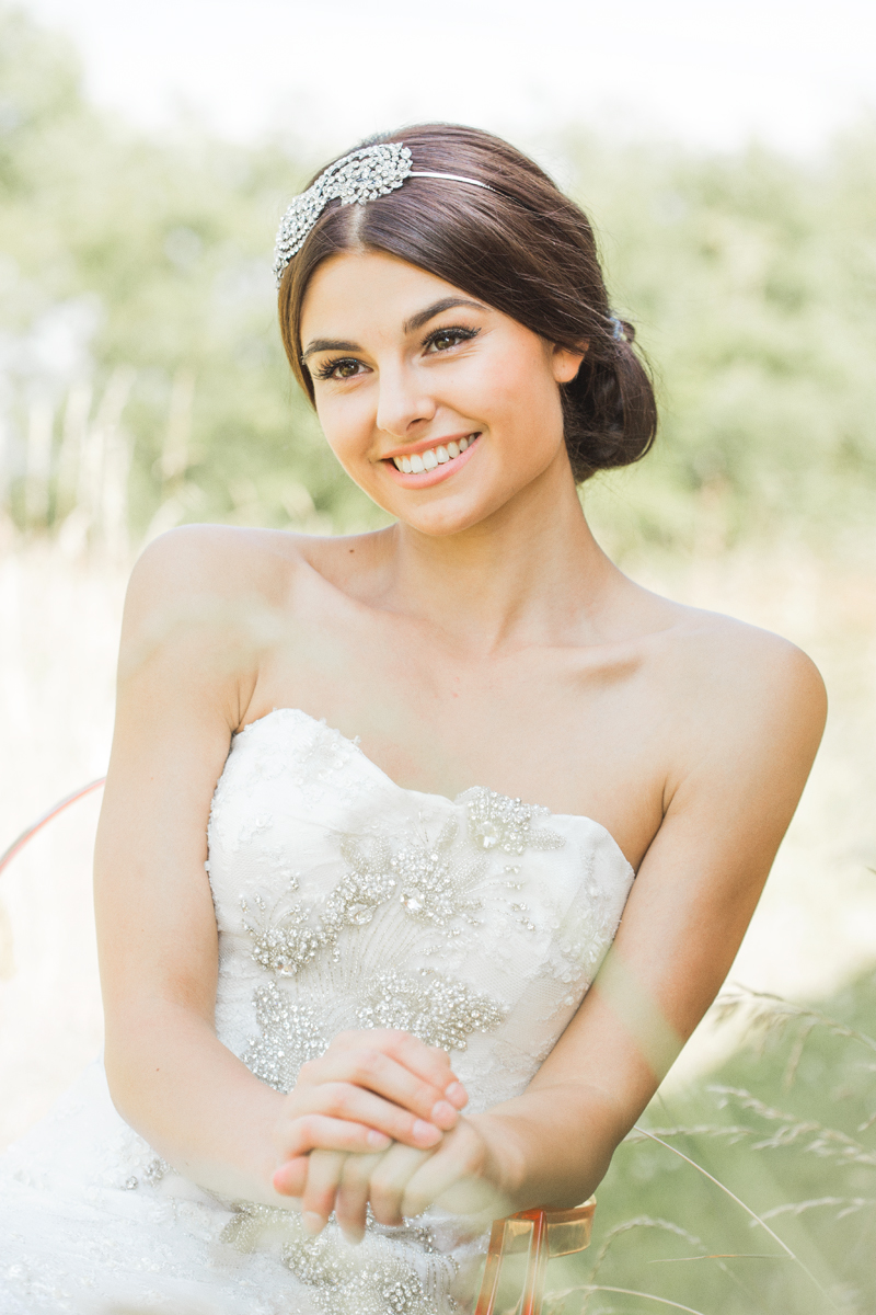 Rock My Wedding Summer Wedding Editorial - Makeup by Jodie