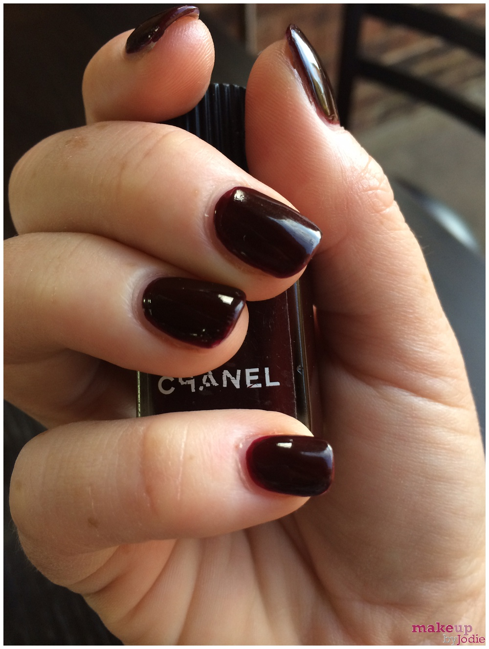 chanel rouge noir review
