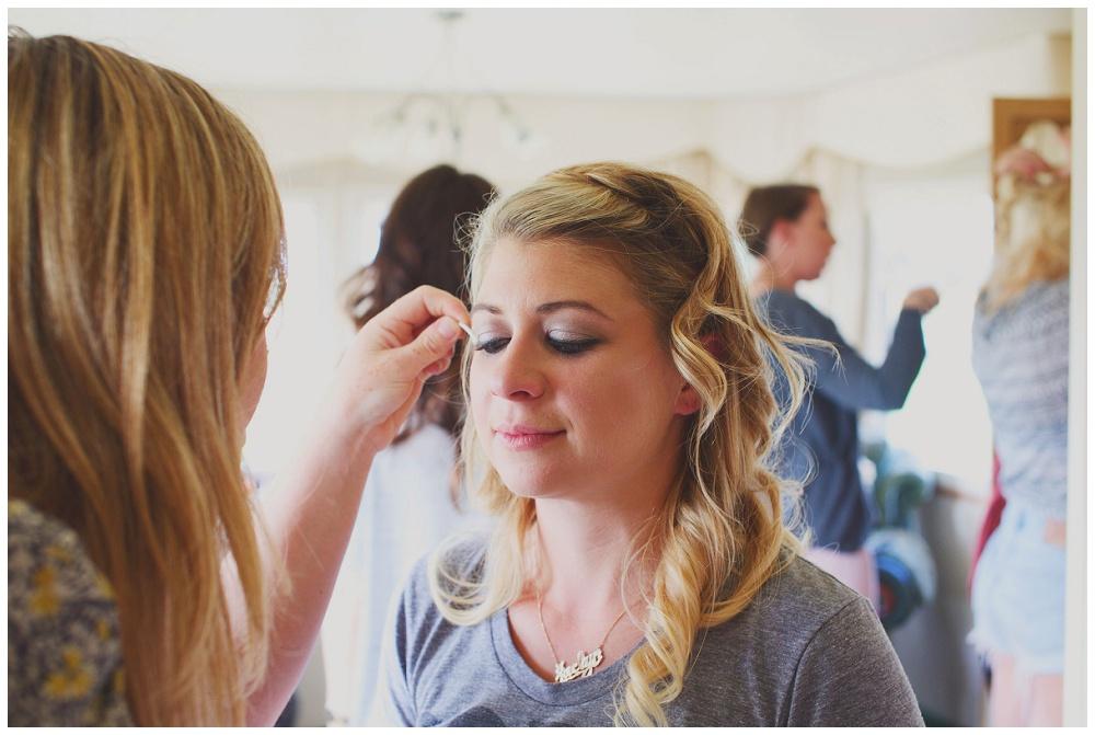 festival wedding makeup