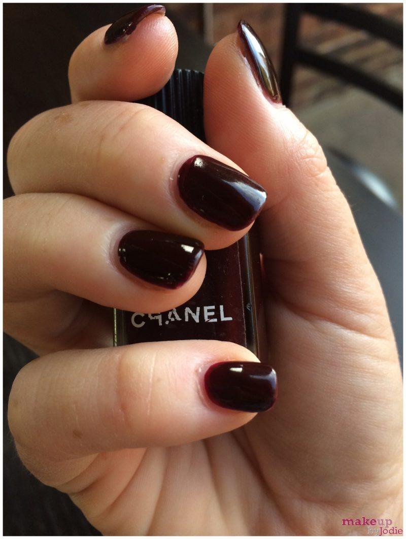 new nail alert chanel rouge noir makeup by jodie. Black Bedroom Furniture Sets. Home Design Ideas