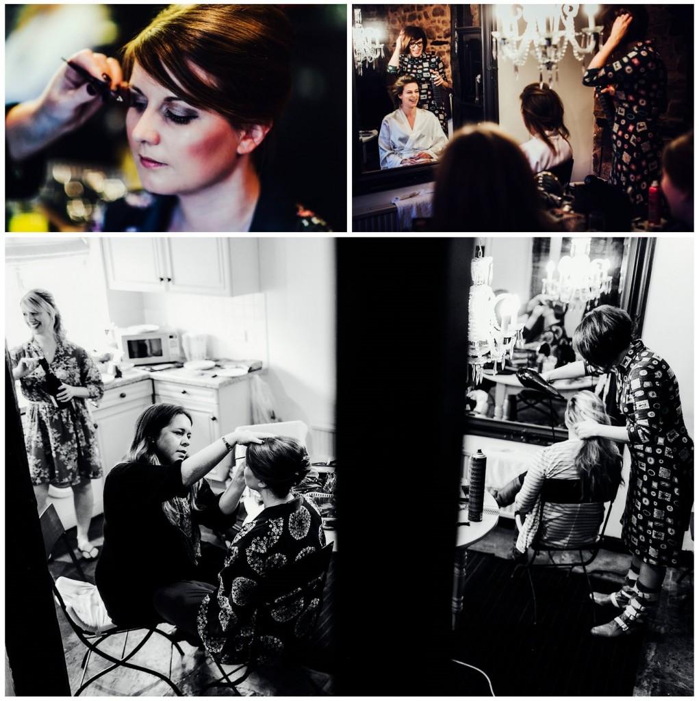 Shustoke Farm Barns Wedding Makeup Artist Wedding Hairdresser (4)