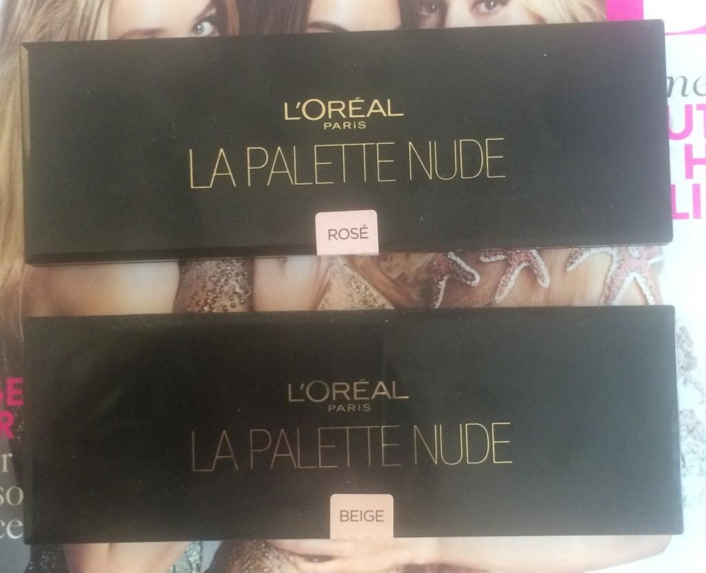 L'Oreal La Palette Nude Review 1