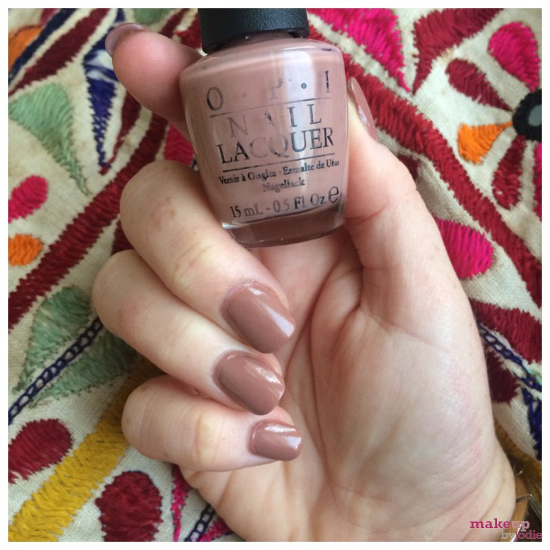 OPI barefoot in barcelona review