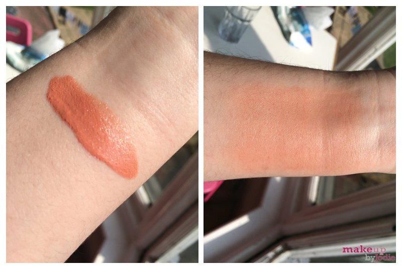 studio 10 blusher swatch