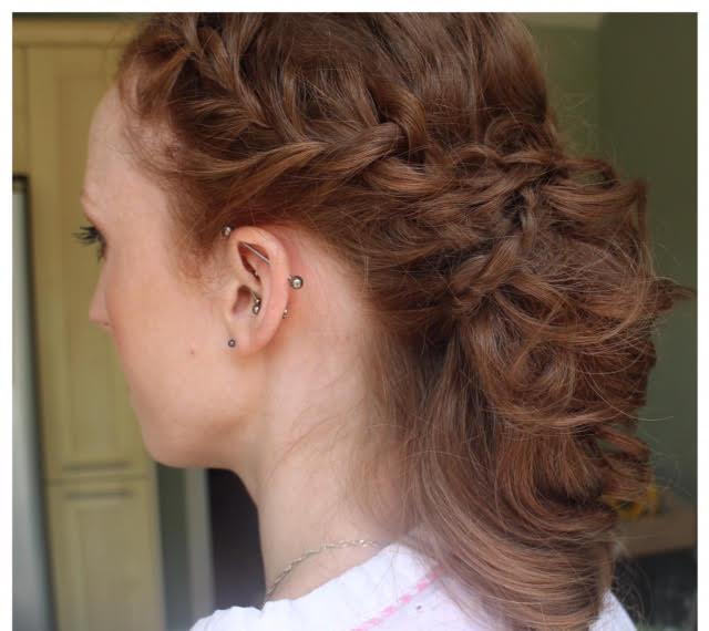 lesbian wedding hair