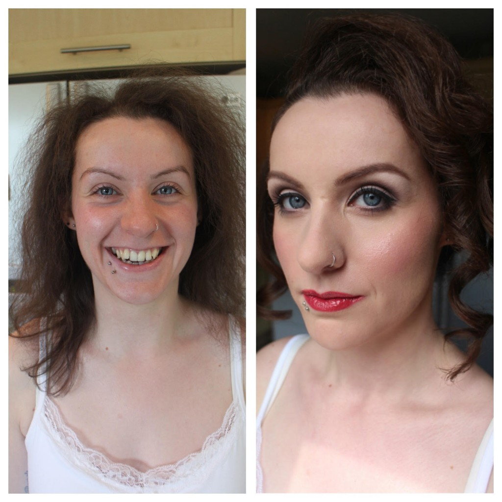 lesbian wedding makeup 1