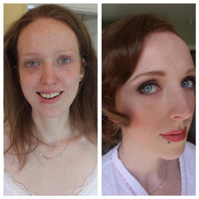 lesbian wedding makeup