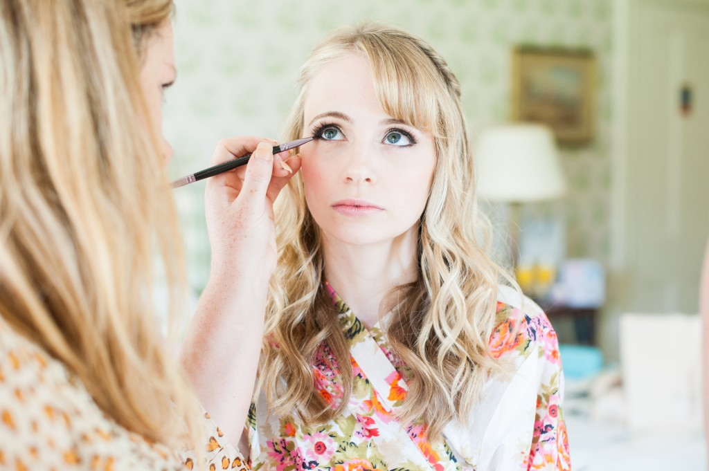 west sussex wedding hair and makeup