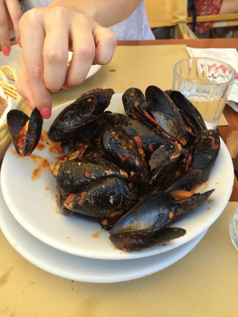 Seafood lunch at Da Adolfo