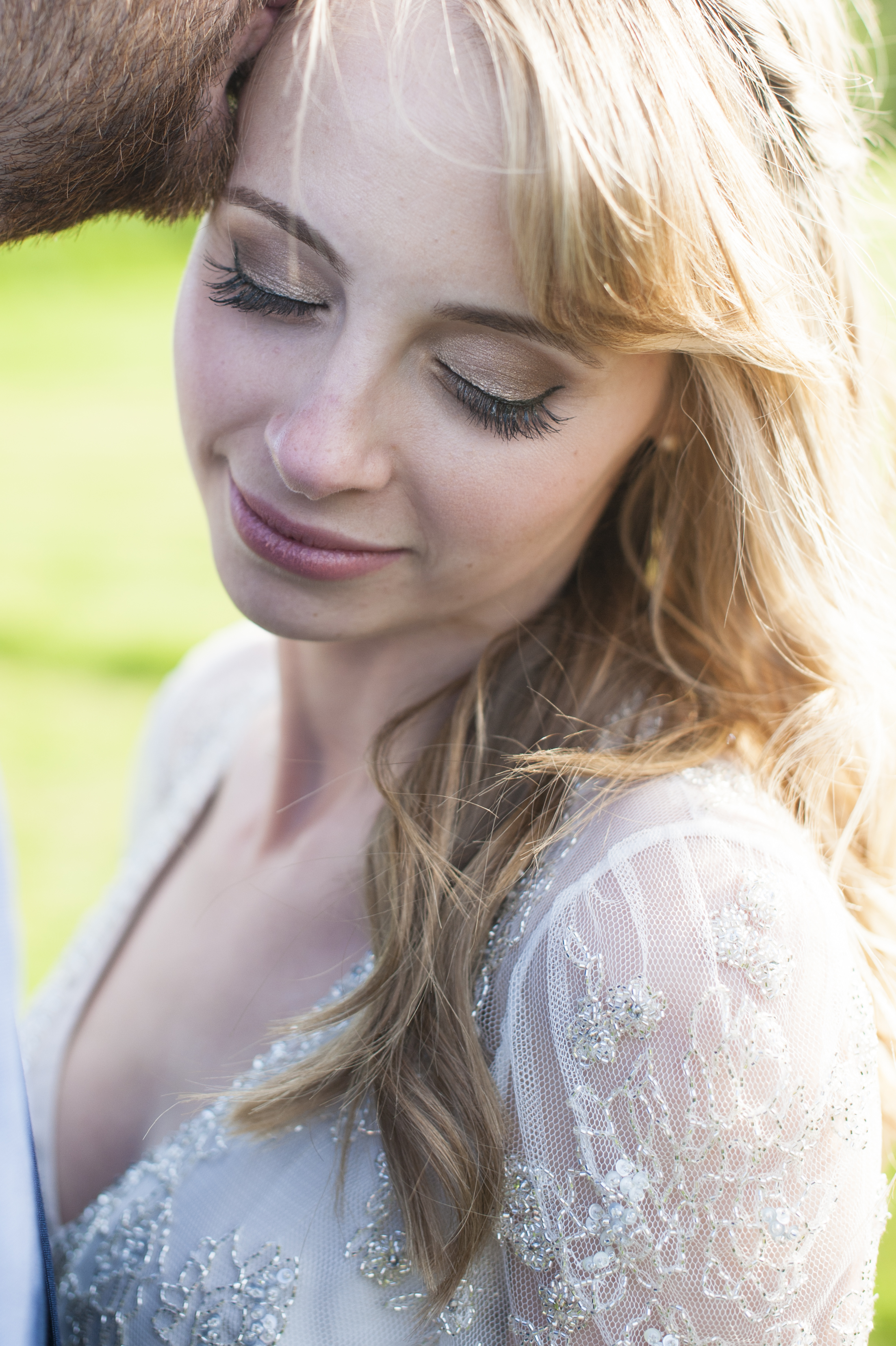 sarah's fab day - west sussex wedding hair and makeup