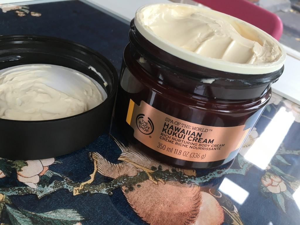 2015-The Body Shop Hawaiian Kukui Cream review