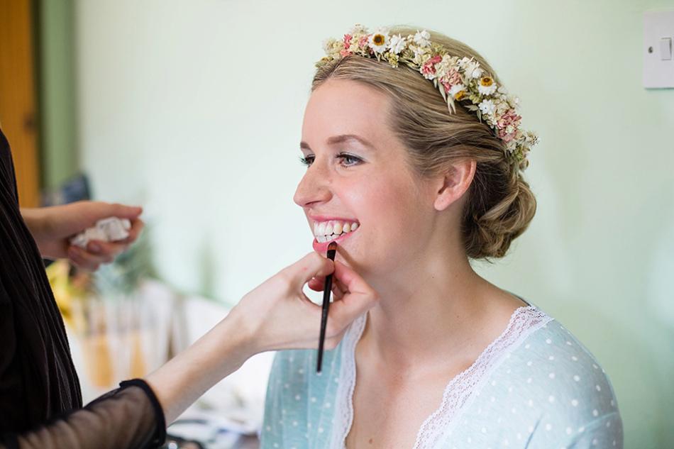 Packington Moor Farm Wedding Hair and Makeup2