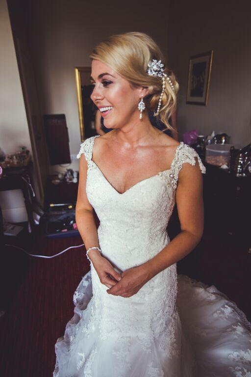 Wedding hair and makeup berkeley castle11