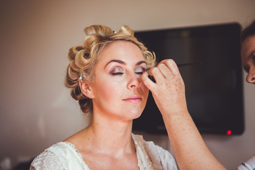 Wedding hair and makeup berkeley castle2