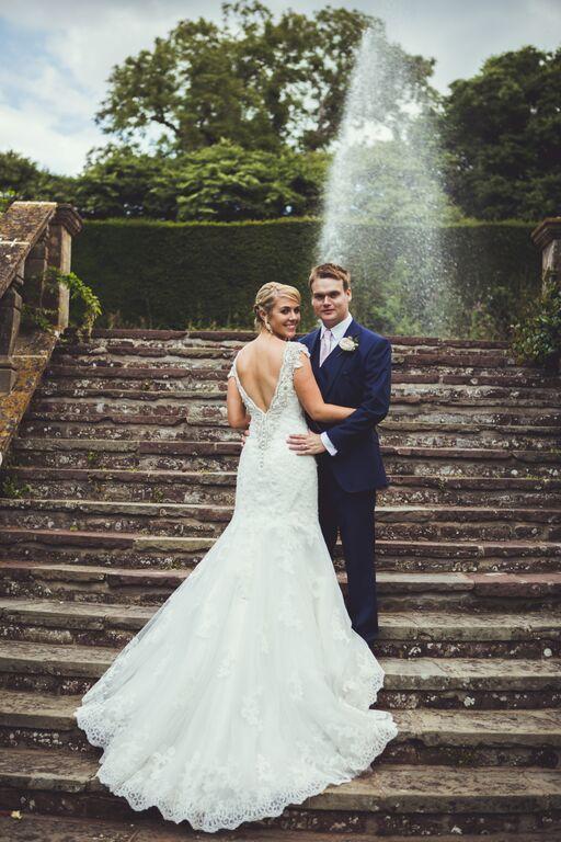 Wedding hair and makeup berkeley castle29