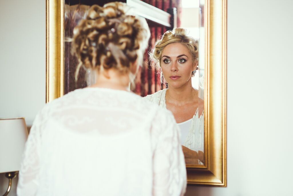 Wedding hair and makeup berkeley castle6