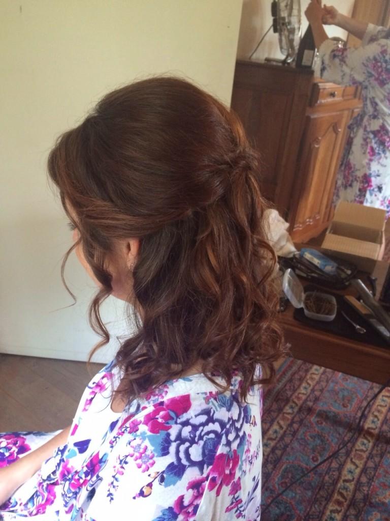 wedding hair and makeup bordeaux destination wedding