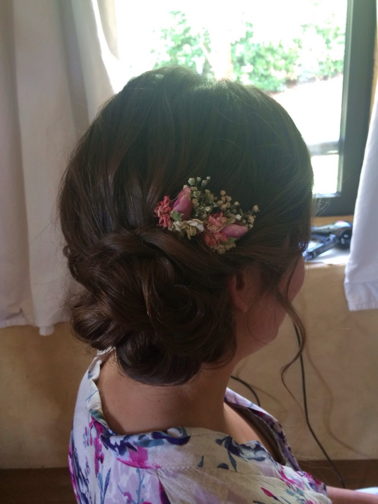 Bordeaux Hair and Makeup Destination Wedding By Jodie