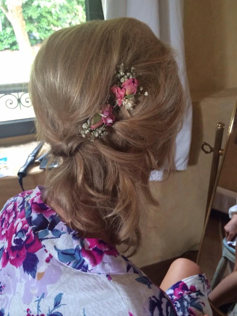 wedding hair and makeup bordeaux destination wedding8