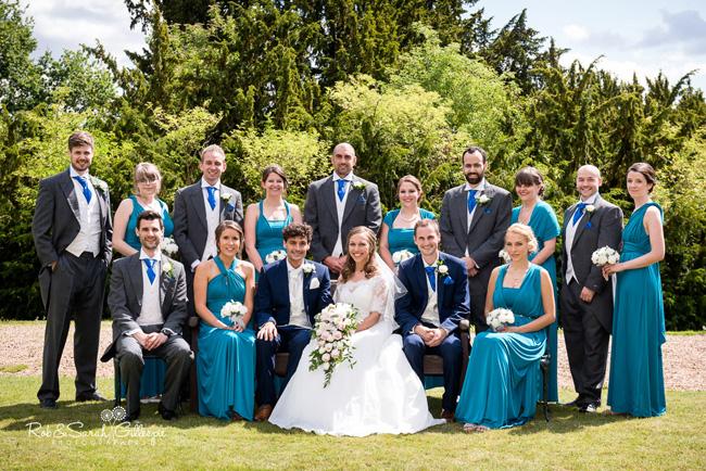 wedding hair studley castle