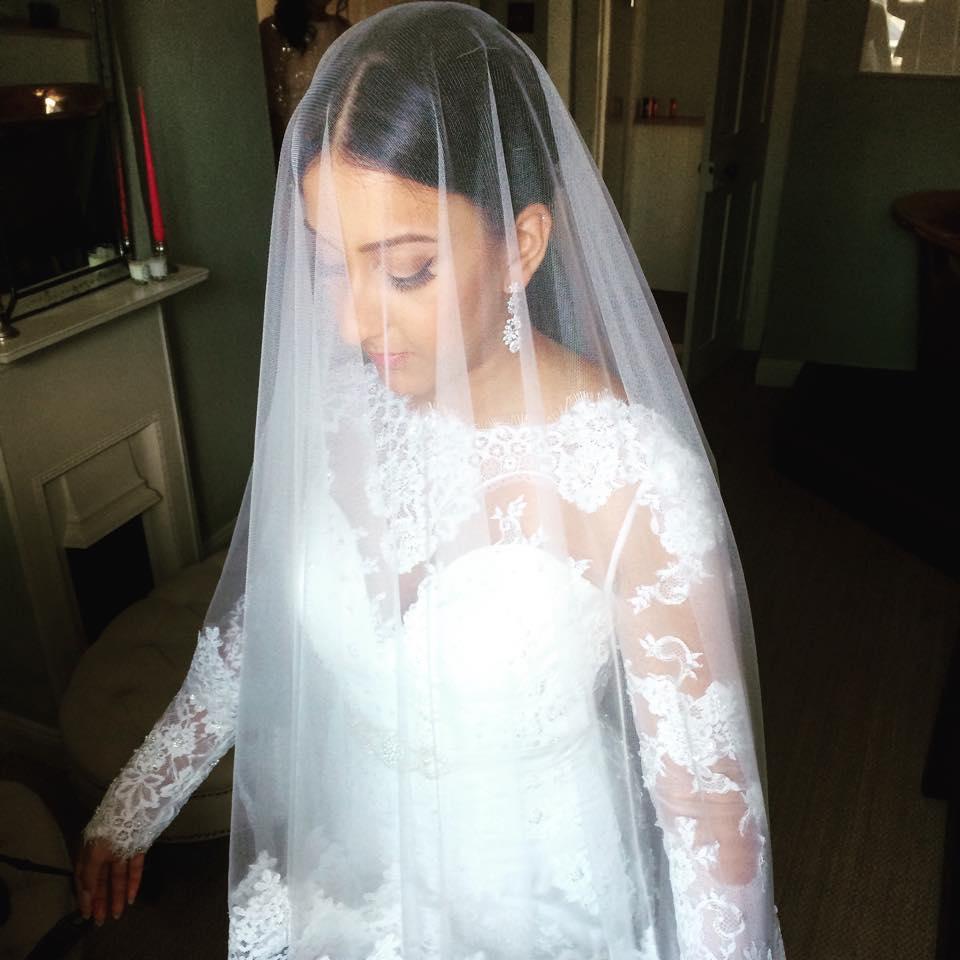 Blenheim Palace wedding makeup 10