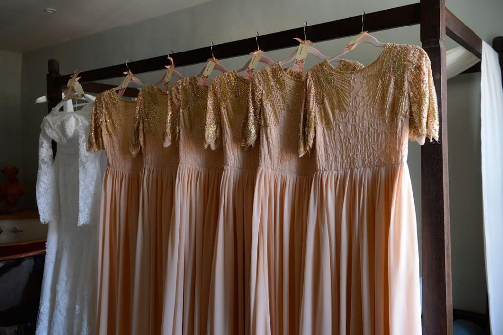 Blenheim palace wedding hair