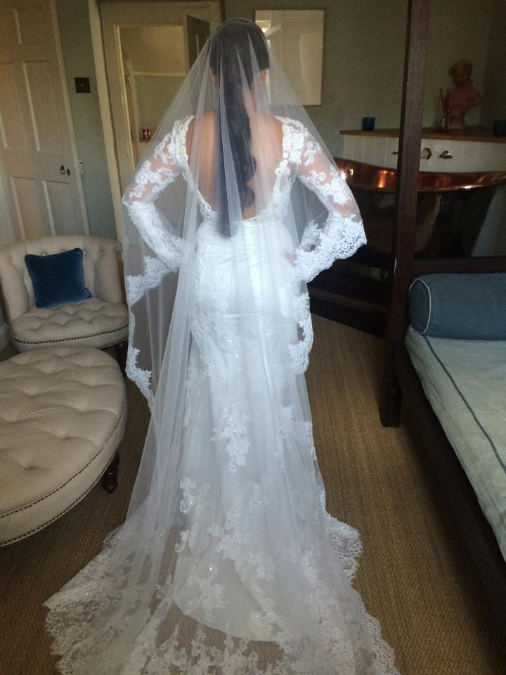 Blenheim palace bridal hair