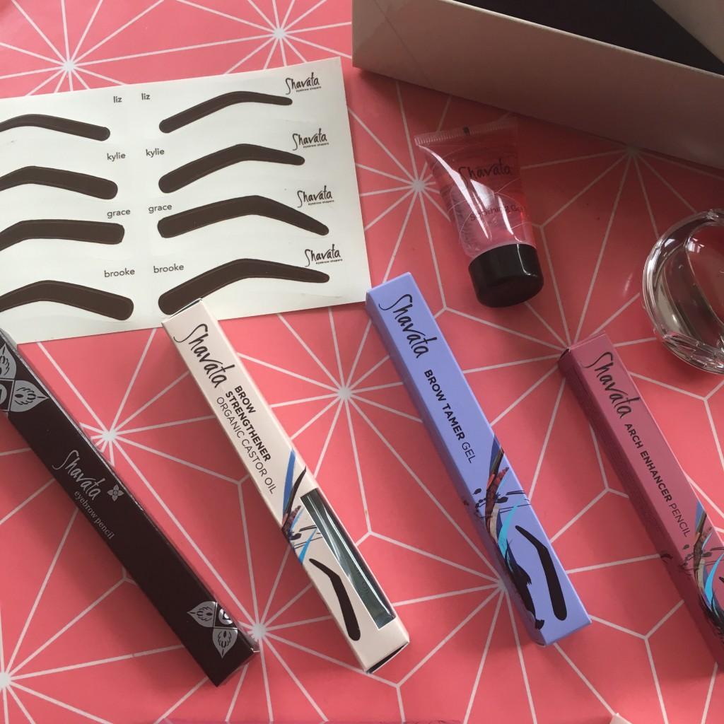 Shavata brow studio brow kit products