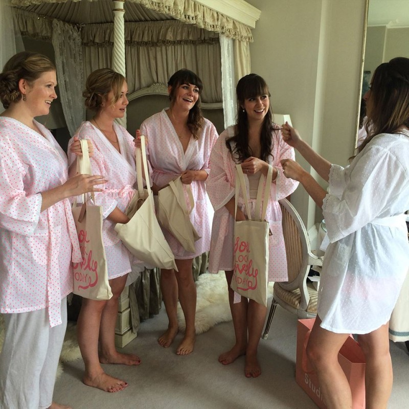 North Cadbury Court wedding bridesmaids