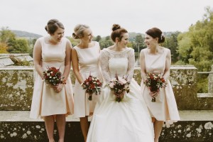 Eastnor Castle wedding hair and makeup11