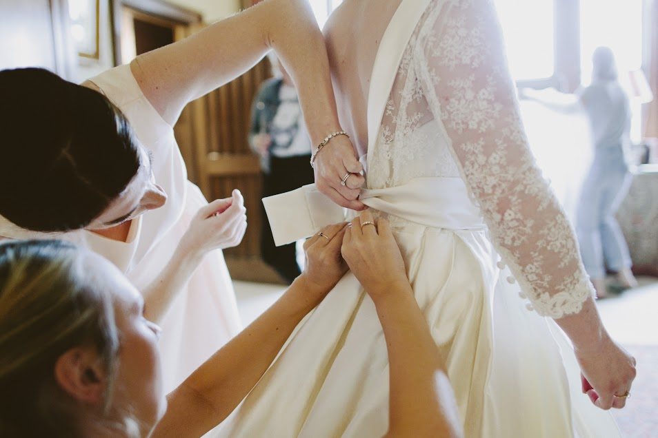 Eastnor Castle wedding hair and makeup4