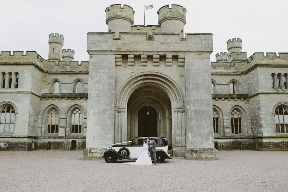 Eastnor Castle wedding hair and makeup9