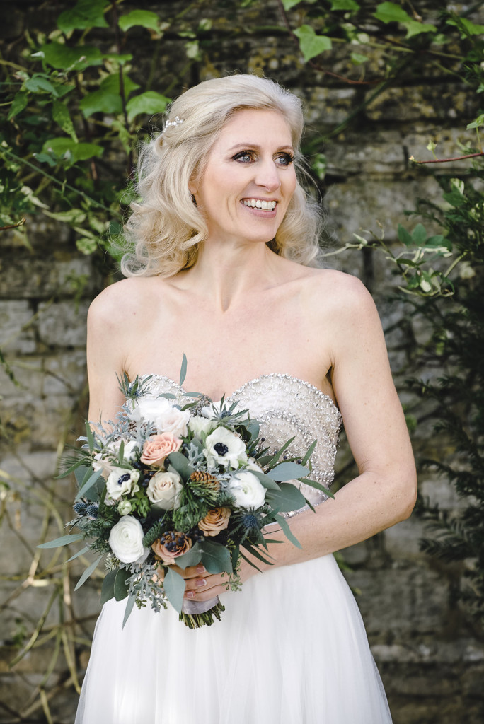 Wedding makeup Barnsley House